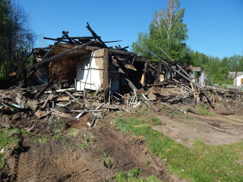 Прокуратура требует взыскать с поджигателя здания с пунктом полиции и ДЮСШ 650 тыс ущерба