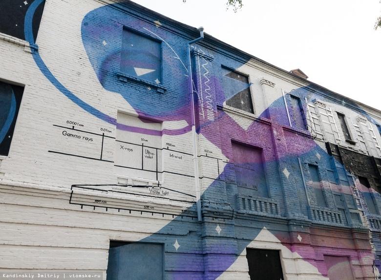 Google включил томское граффити на Никитина в список самых ярких в РФ