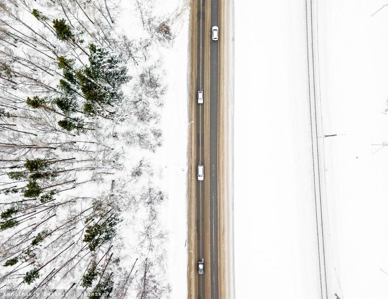 ГИБДД ищет автомобиль, который сбил мужчину на трассе Томск — Самусь и скрылся