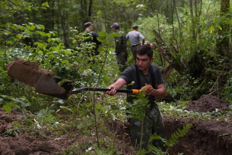 Поисковики ищут родственников погибшего солдата томской стрелковой дивизии