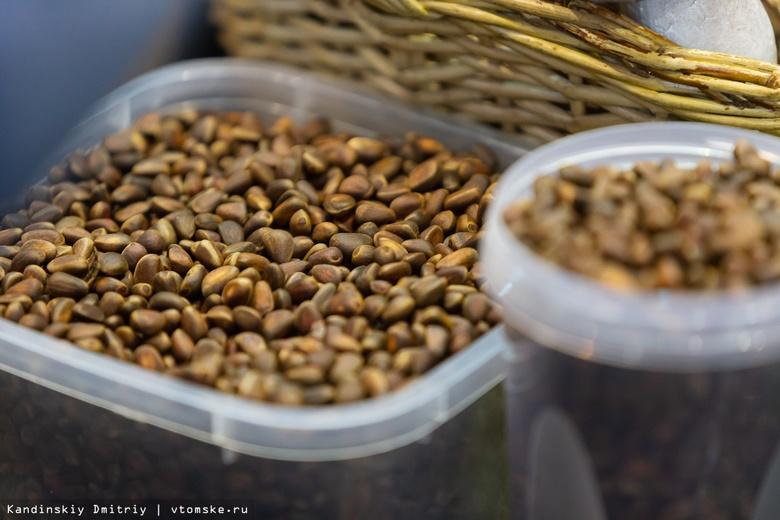 Экспорт кедрового ореха из Томской области вырос в 219 раз