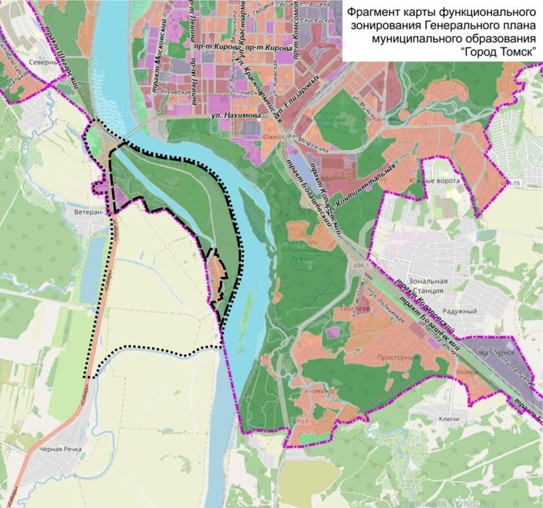 Власти направят 25 млн руб на предпроектные работы по созданию стадиона на левом берегу Томи