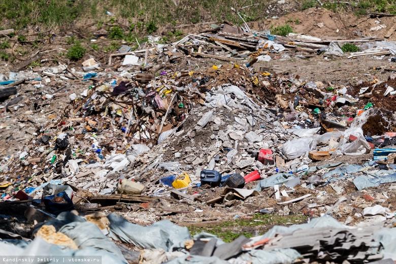 Мэрия: основная причина свалок под Томском — разгрузка строительного мусора