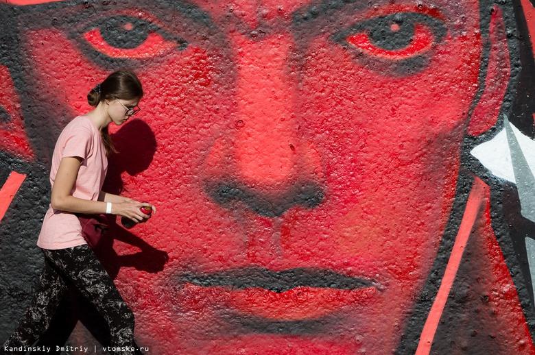 Художники распишут здания в Томске, Каргаске и Парабели на фестивале «Стенограффия»