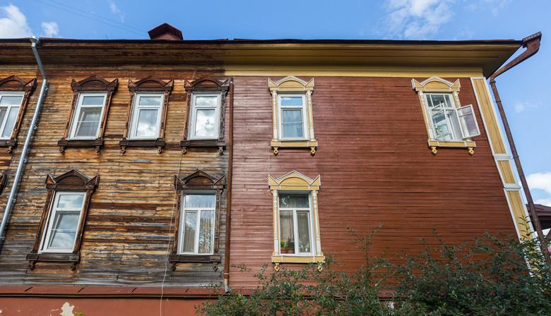 Волонтеры завершат восстановление старинного дома на Дзержинского ко Дню томича