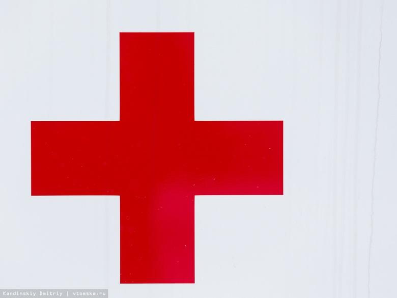 Дети пострадали в двойном ДТП в Томске