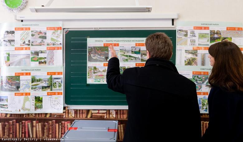Томичи выбрали 25 общественных пространств для благоустройства в 2019г