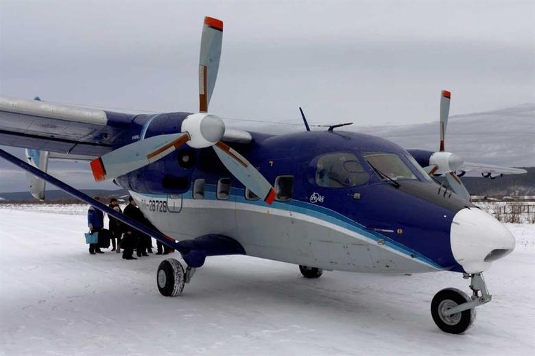 Пропавший в Томской области самолет Ан-28 нашли