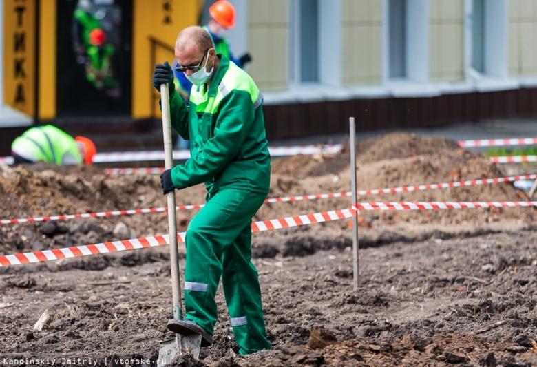 Власти: ФСИН стала лучше справляться с благоустройством парков и скверов Томска