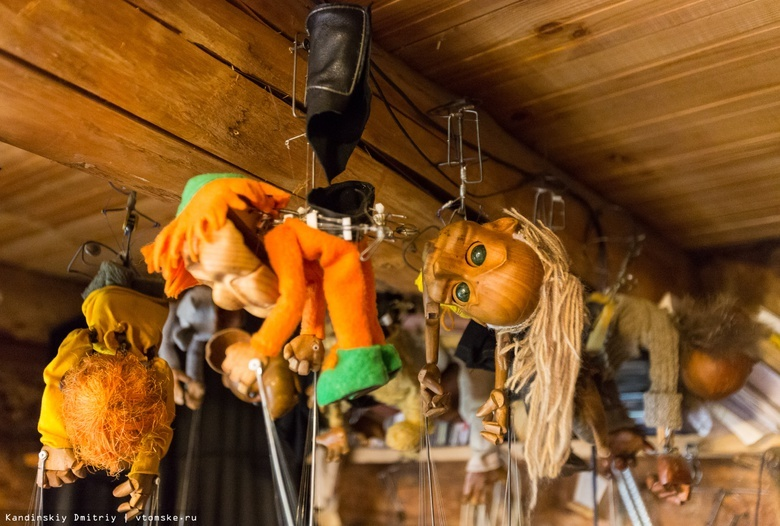 Томичей приглашают на фестиваль кукол на запястье памяти Владимира Захарова