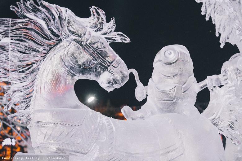 Скульптура «покатушки миньонов» заняла 1 место на фестивале «Хрустальный Томск»