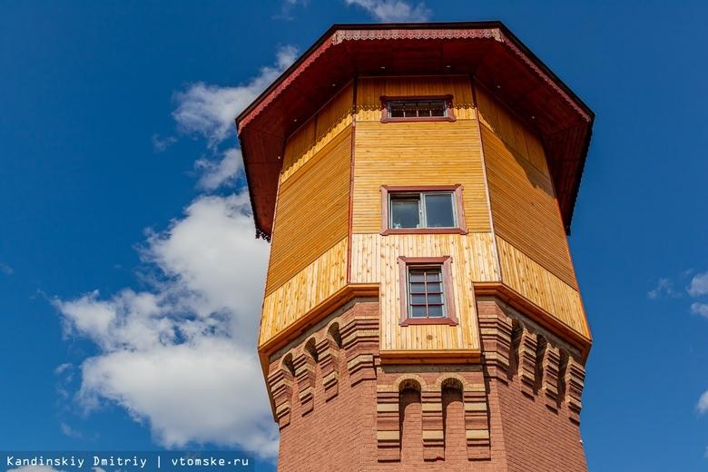 Александр Лунев восстановил старинную томскую башню, пострадавшую от пожара