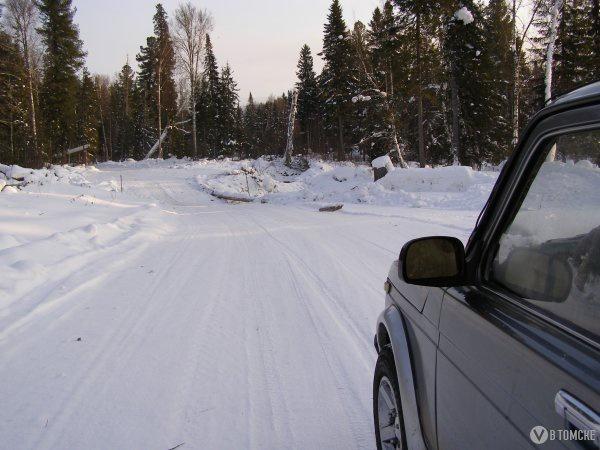 Томская область ввела в эксплуатацию 2 ледовые переправы и 3 автозимника