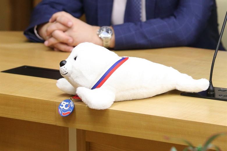 Томичи дали имя талисману чемпионата России по плаванию в ластах