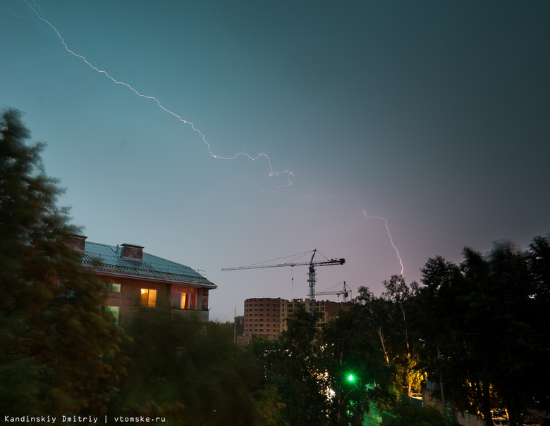 Синоптики рассказали о погоде в Томской области в последние дни лета