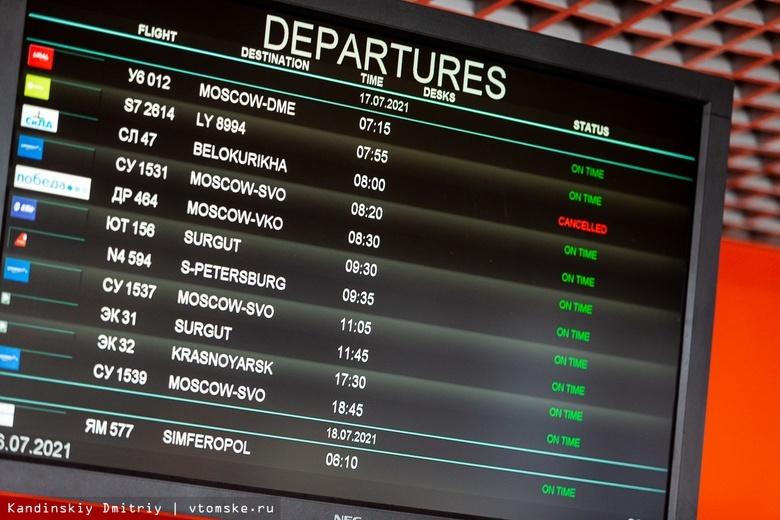 Рейсы авиакомпании «СиЛА» из Томска отменены после ЧП с самолетом Ан-28