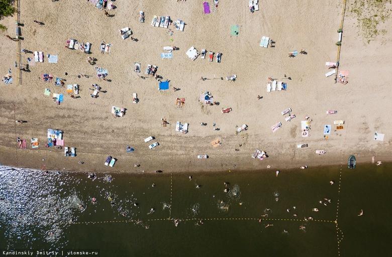 Санврачи рассказали, где вода в Томске пригодна для купания