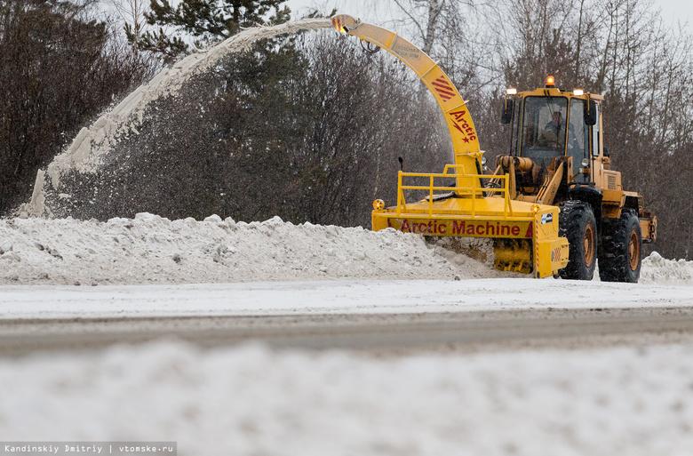 «Арктическая машина»: финский шнекоротор будет убирать улицы Томска от снега