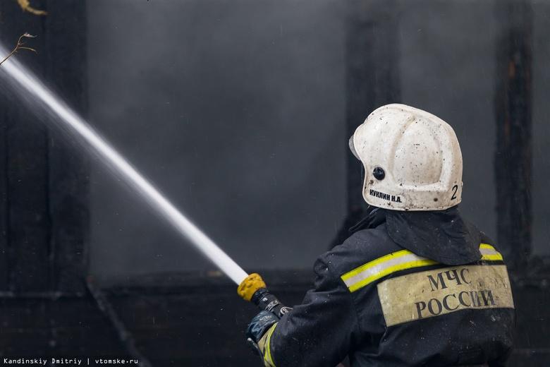Три дома пострадали от огня во время пожара в Богашево