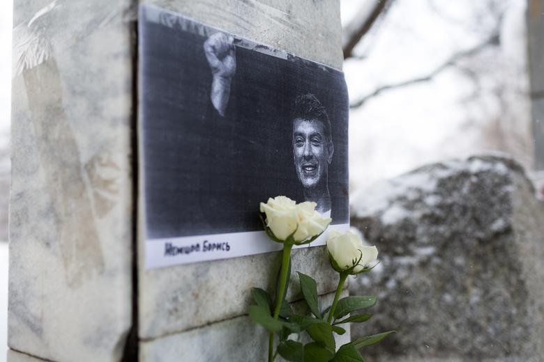 Нашествии памяти Бориса Немцова в столице собрались 4,5 тысячи человек