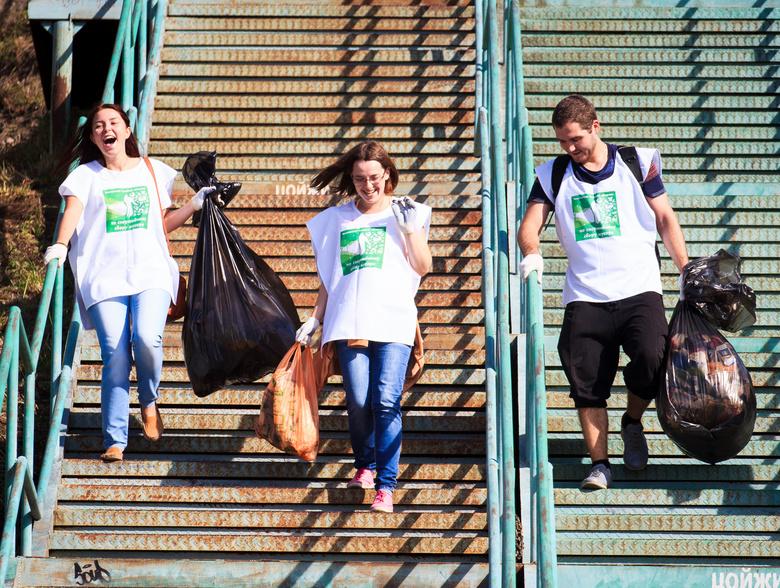 Более 500 кг мусора собрали участники второго томского чемпионата