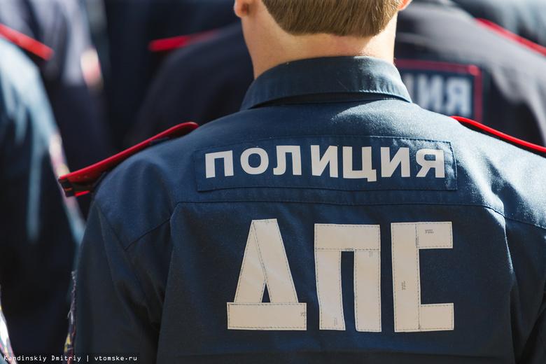 Машина ДПС и Suzuki столкнулись на Яковлева в Томске