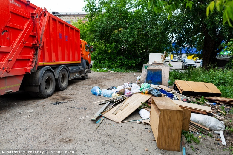 Мэрия Томска купила 11 мусоровозов у московской фирмы за 51 млн руб