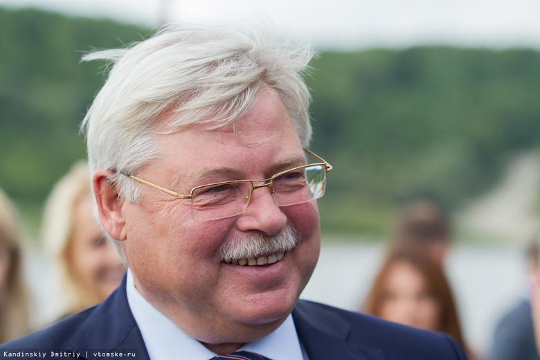 Томский губернатор Жвачкин потратил на предвыборную кампанию почти 30 млн руб