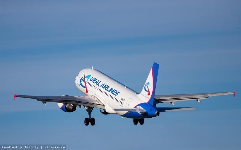 Последний рейс из Томска в Москву вылетел с задержкой в 7 часов