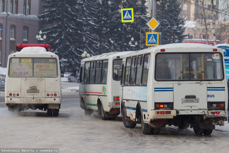Перевозчики Томска хотят повысить стоимость проезда в маршрутках до 30 руб