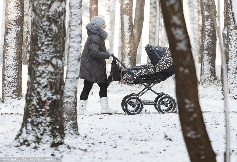 Томская область получит федеральные средства на выплаты за третьего ребенка