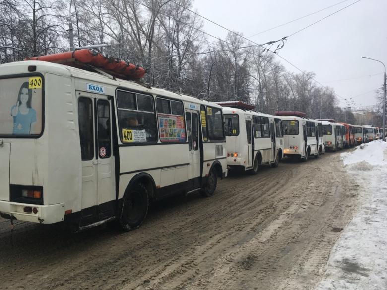 Сильные пробки парализовали проспект Ленина и Иркутский тракт утром в четверг