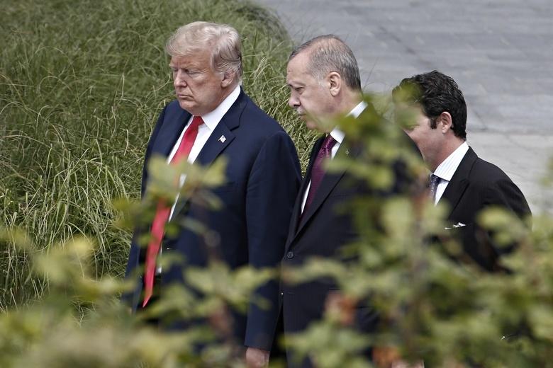 WP рассказал о предложении на $100 млрд, которое Трамп сделал Эрдогану