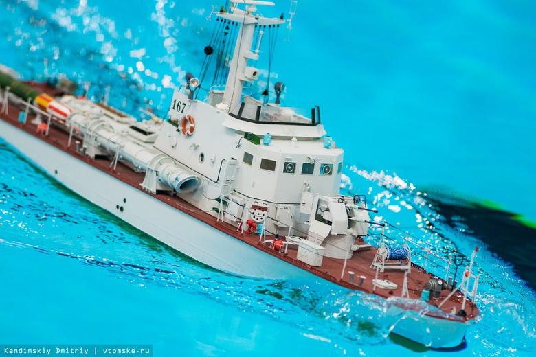 Американские и японские корабли пришвартовались в томском бассейне