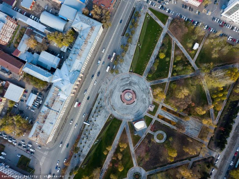 Дорожники переделают разметку на Ленина в Томске, нанесенную с ошибкой