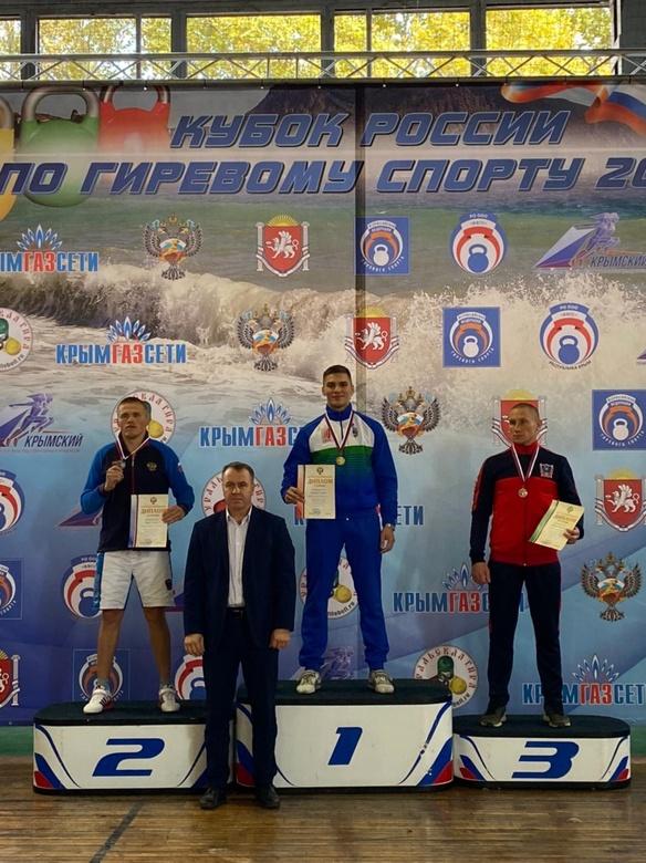 Гиревик из Томска стал победителем Кубка России