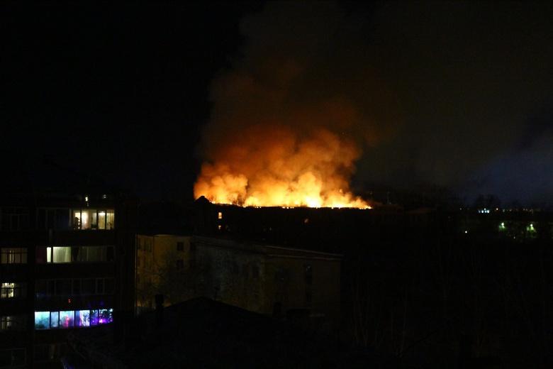 МЧС: перекрытия в здании бывшего училища связи в Томске могут обрушиться