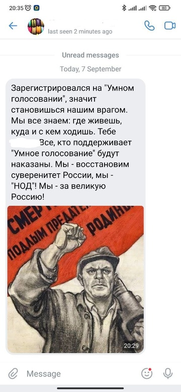 Томичи начали получать угрозы из-за участия в системе «Умного голосования»