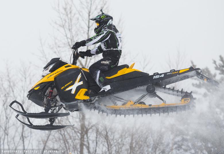 В Томске пройдет кросс на снегоходах