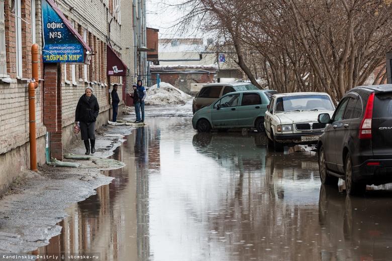Синоптики обещают потепление до +15°C по Томской области в понедельник