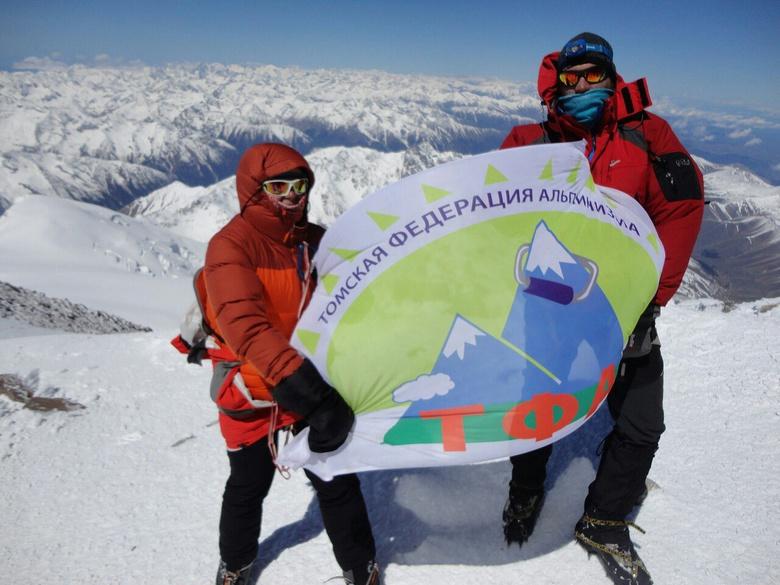Томские альпинисты покорили Эльбрус