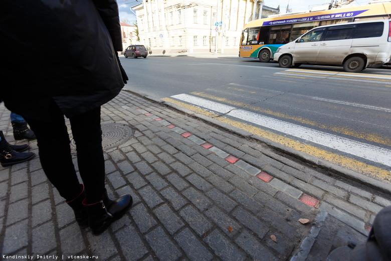 «Лежачие» светофоры могут появиться у школ Томска в 2018г