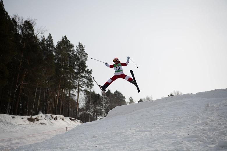 Томичи завоевали почти все медали всероссийских соревнований по фристайлу
