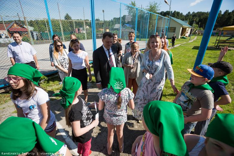 Спортсмены и «миллионеры»: мэр Томска проверил работу детских лагерей