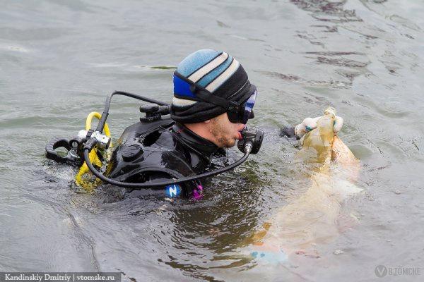 Томские дайверы проведут подводный субботник на Нефтехимовском озере