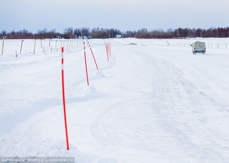 В Томской области начали закрывать ледовые переправы