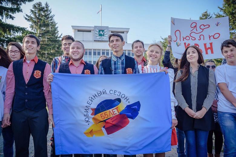 Студенты Томска записали видеопоздравления в честь 55-летия КВН