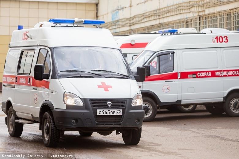 КамАЗ сбил пешехода на Шегарском тракте
