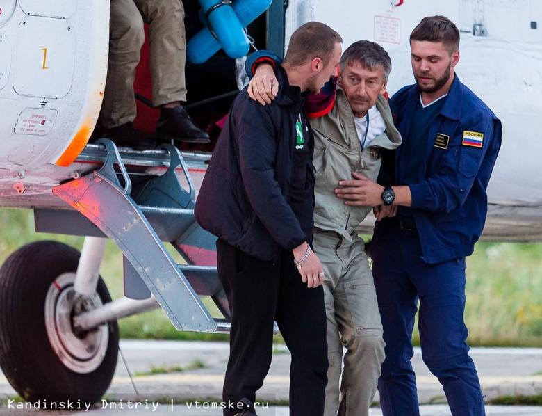 Пострадавший при ЧП пилот Ан-28 Анатолий Прытков