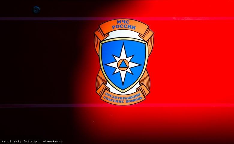 Тела троих человек нашли пожарные в сгоревшем нежилом доме в Томской области